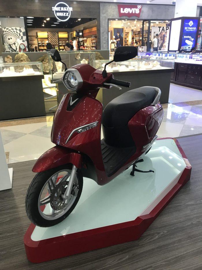 VINFASTの電動バイク